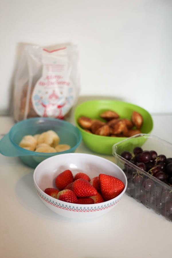 ingredients for pancake fruit kebabs