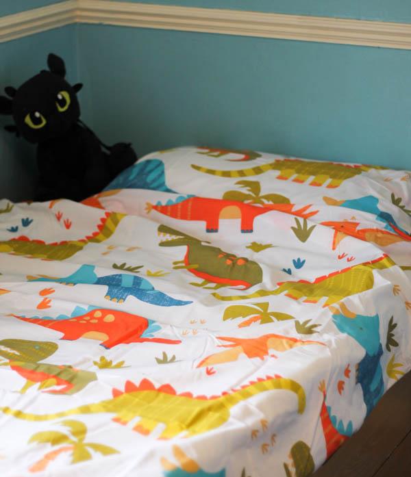 samantha george dinosaurs bedding set