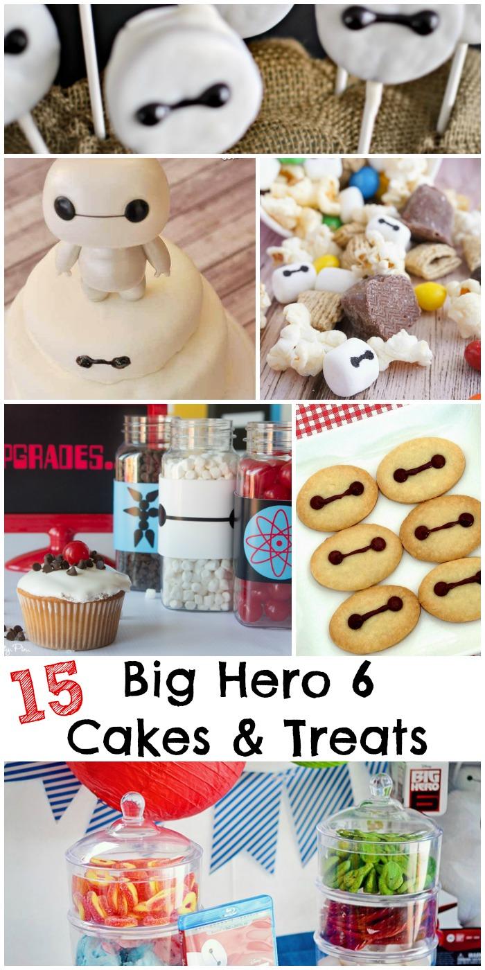 15 Big Hero 6 cake ideas and treats