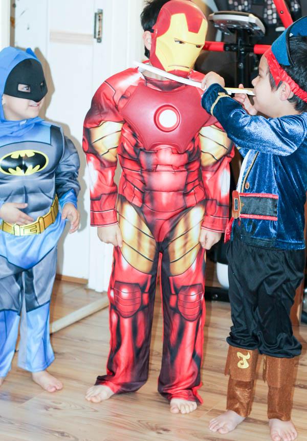 comic book super hero world book day costumes from asda