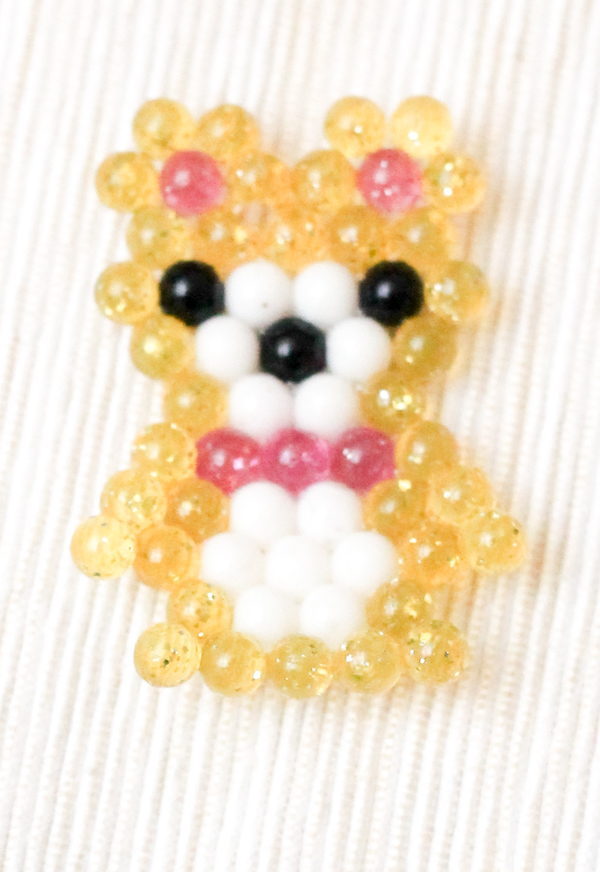 beados teddy bear water bead picture