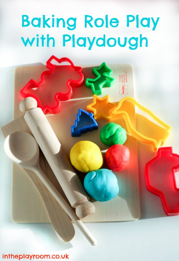 Baking Role Play With Playdough In The Playroom