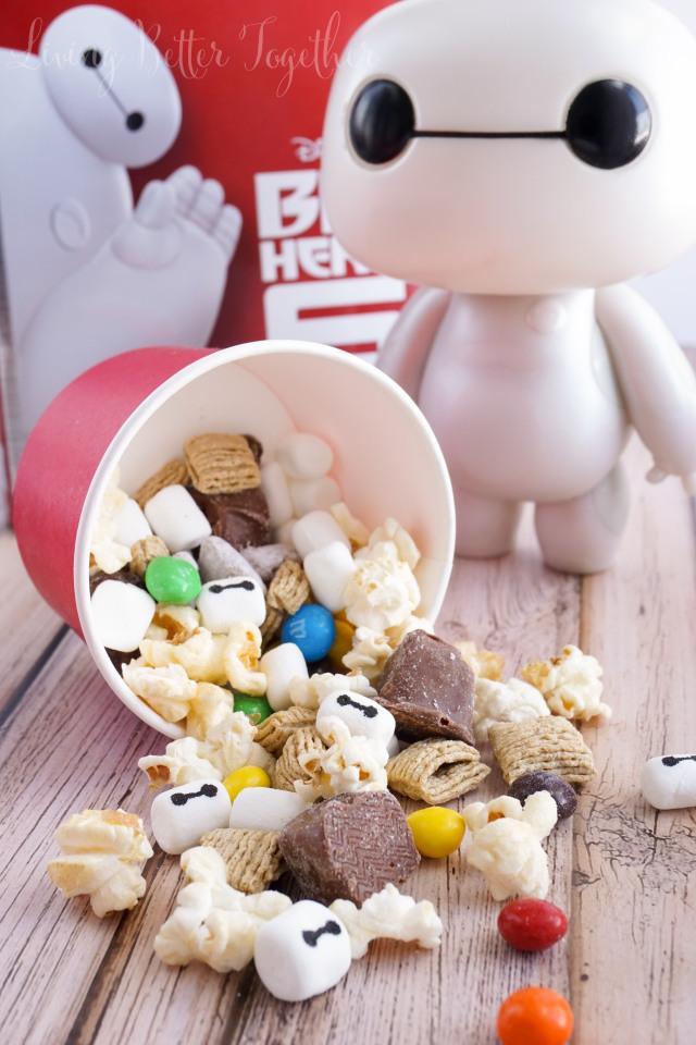 big hero 6 snack mix