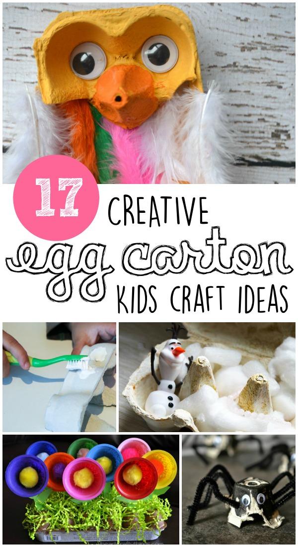 17 super creative egg carton crafts for kids