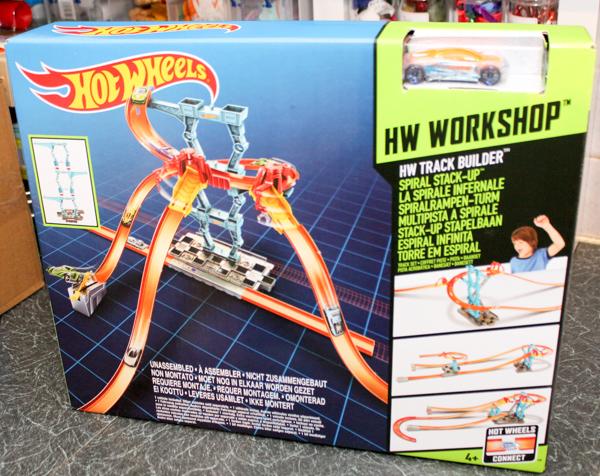 Hot Wheels Track Builder Spiral Stack-Up