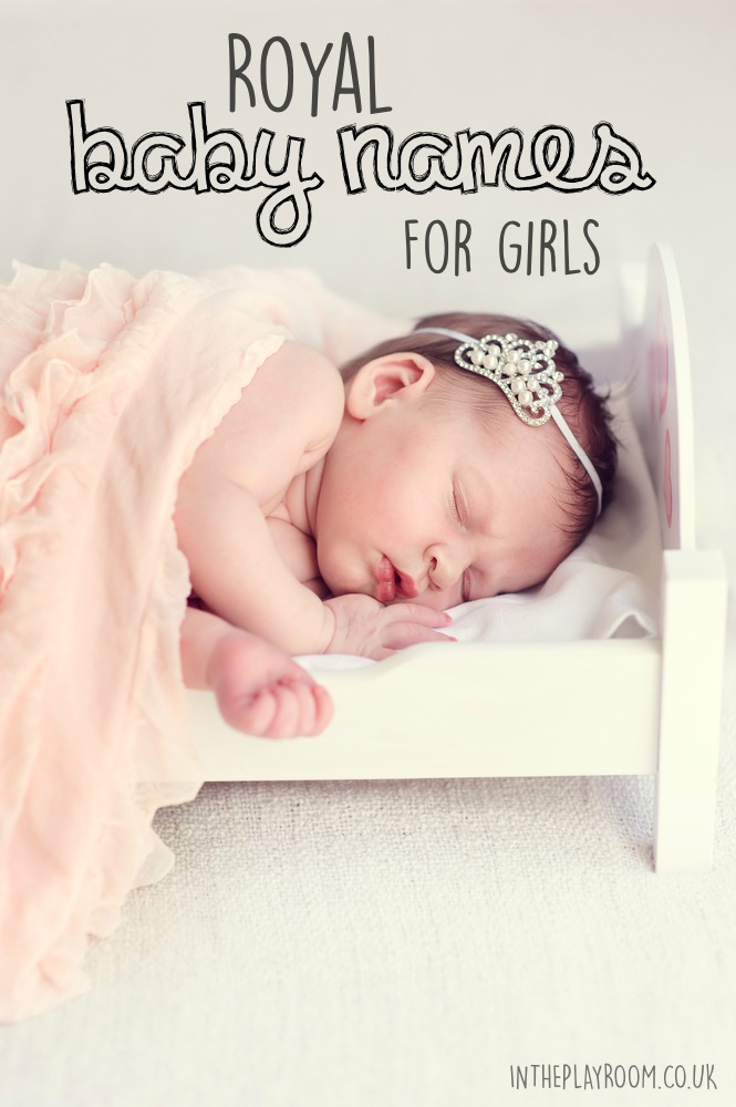 26 royal baby names for girls, with variations and nick name ideas. Based on princess names used in the British royal family