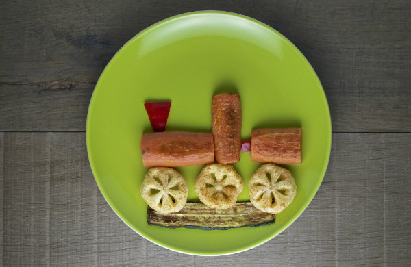 train snack for kids