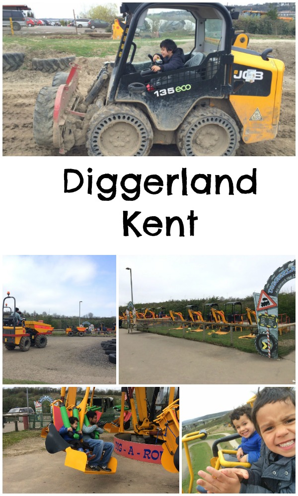 Diggerland Kent. A fun family day out