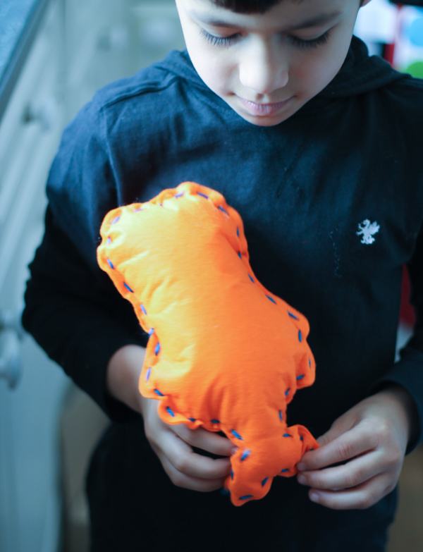 stuffed mermaid sewing project