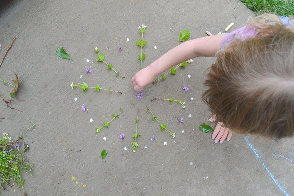 nature flower mandala