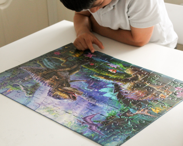 ravensburger dinosaur 100 piece puzzle