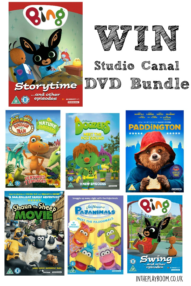 Win a studio canal bundle to celebrate the release of Bing Storytime