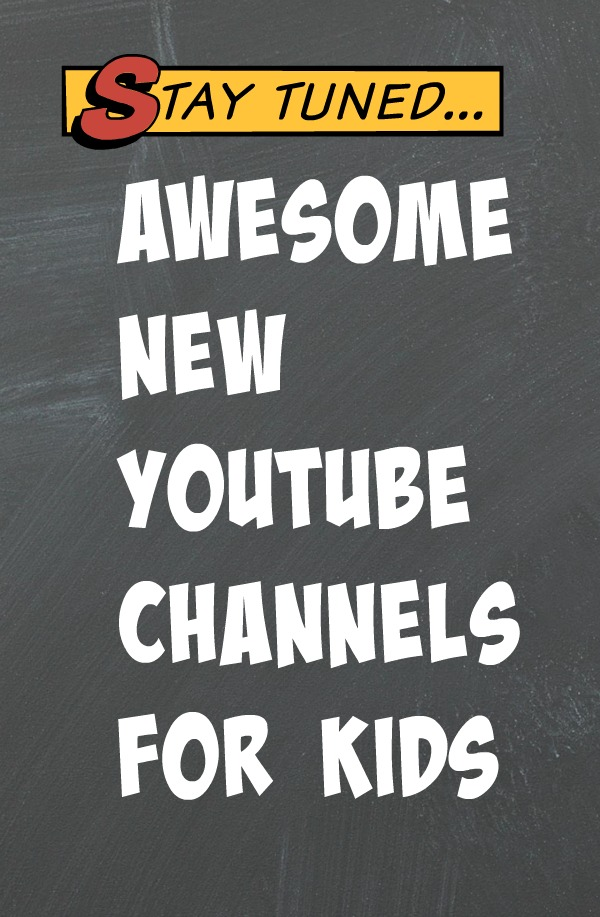 New youtube channels for kids featuring DC Superfriends, Batman Unlimited and Scooby Doo