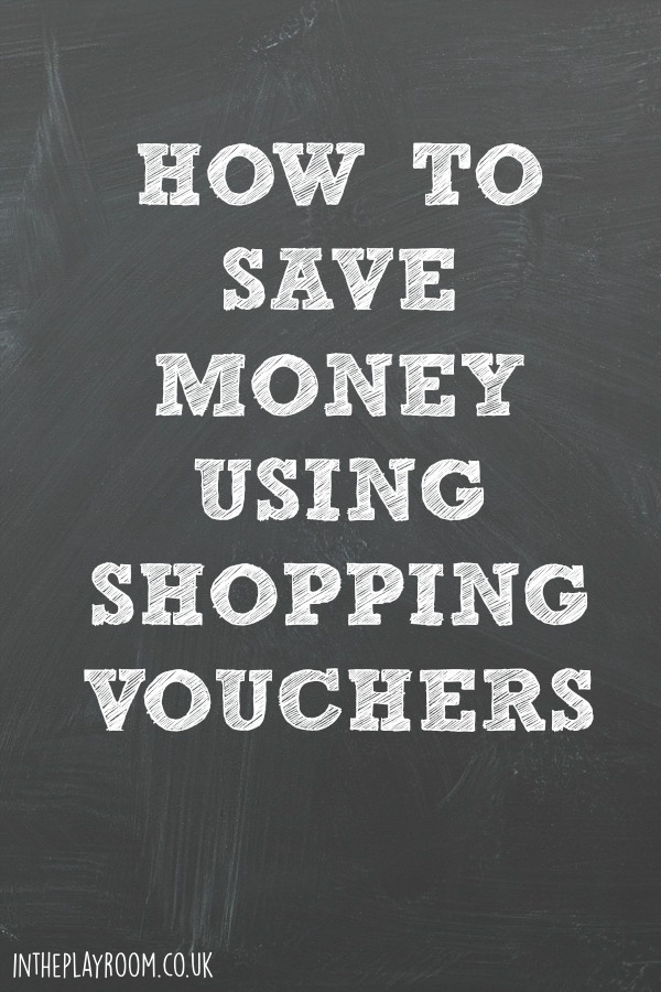 How to save money using shopping vouchers. This app is a great idea, and you can get free credit to try it out via this blog post