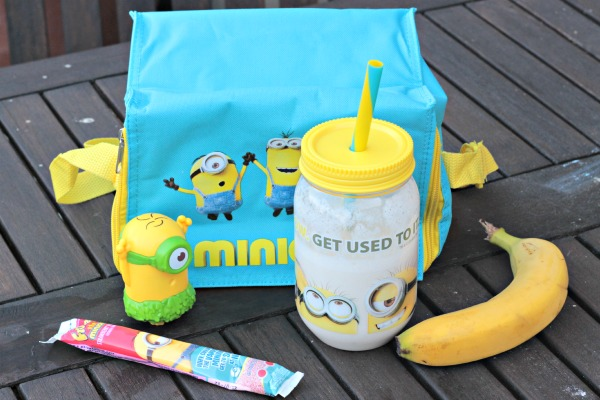 make a minions milkshake