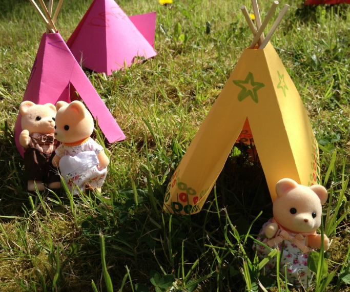 How to make a stick teepee by crafts on sea