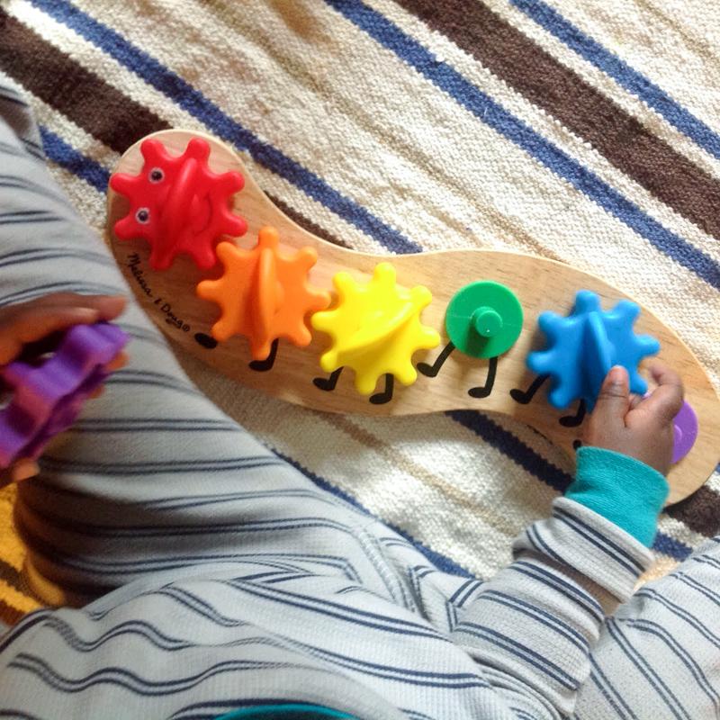 melissa and doug caterpillar toy
