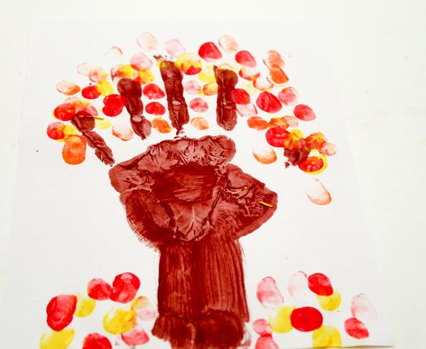 fingerprint handprint tree