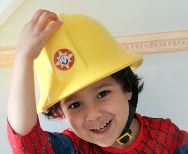Fireman sam hat with sound