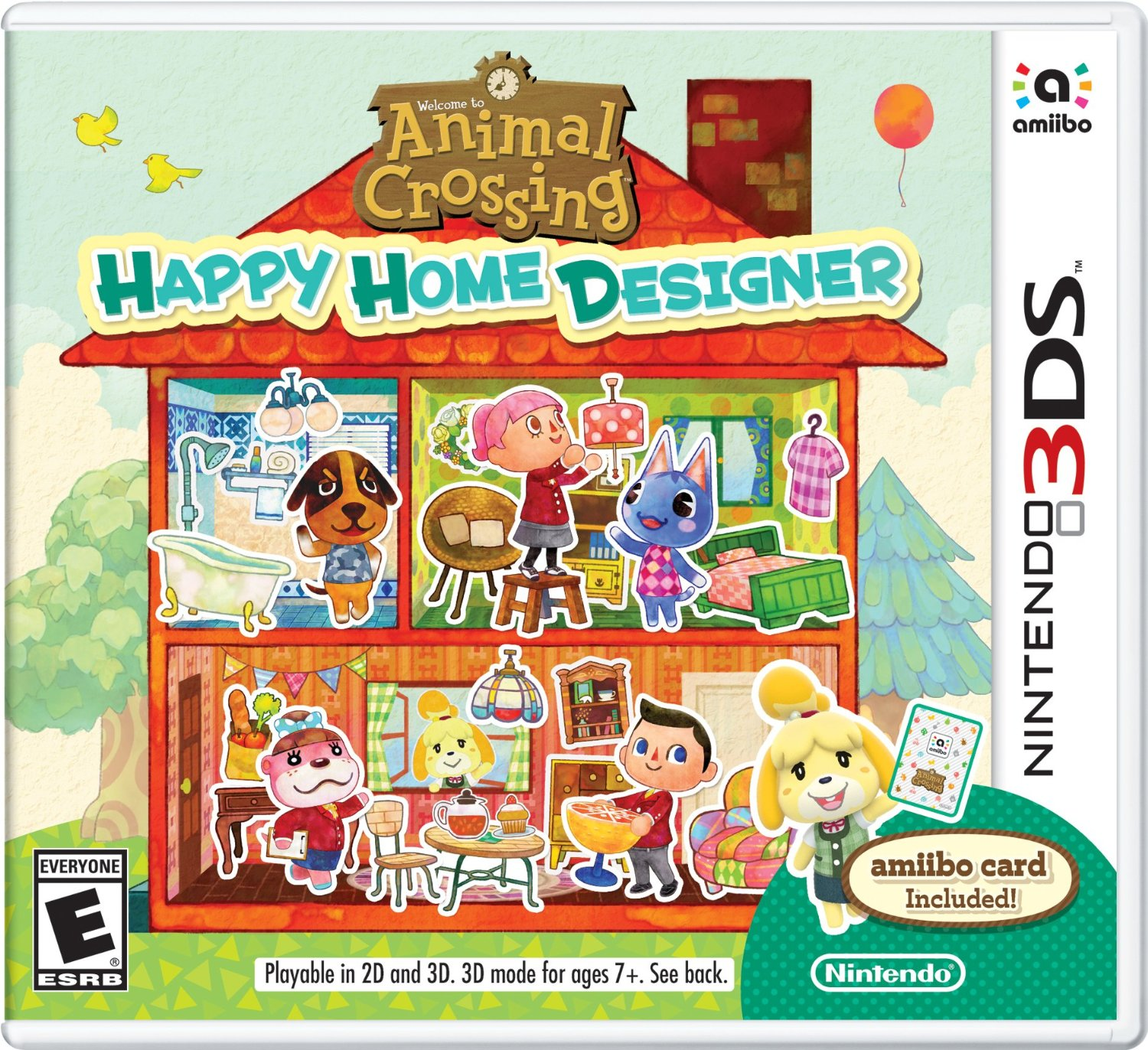 animal crossing happy home designer in the playroom