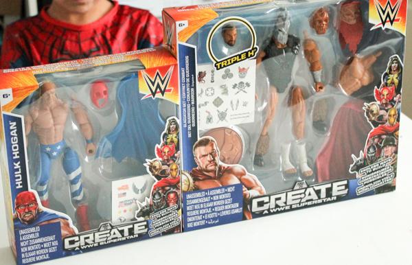 WWE Create a superstar range figures