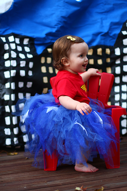 Baby Wonder Woman Costume from the Mom Creative