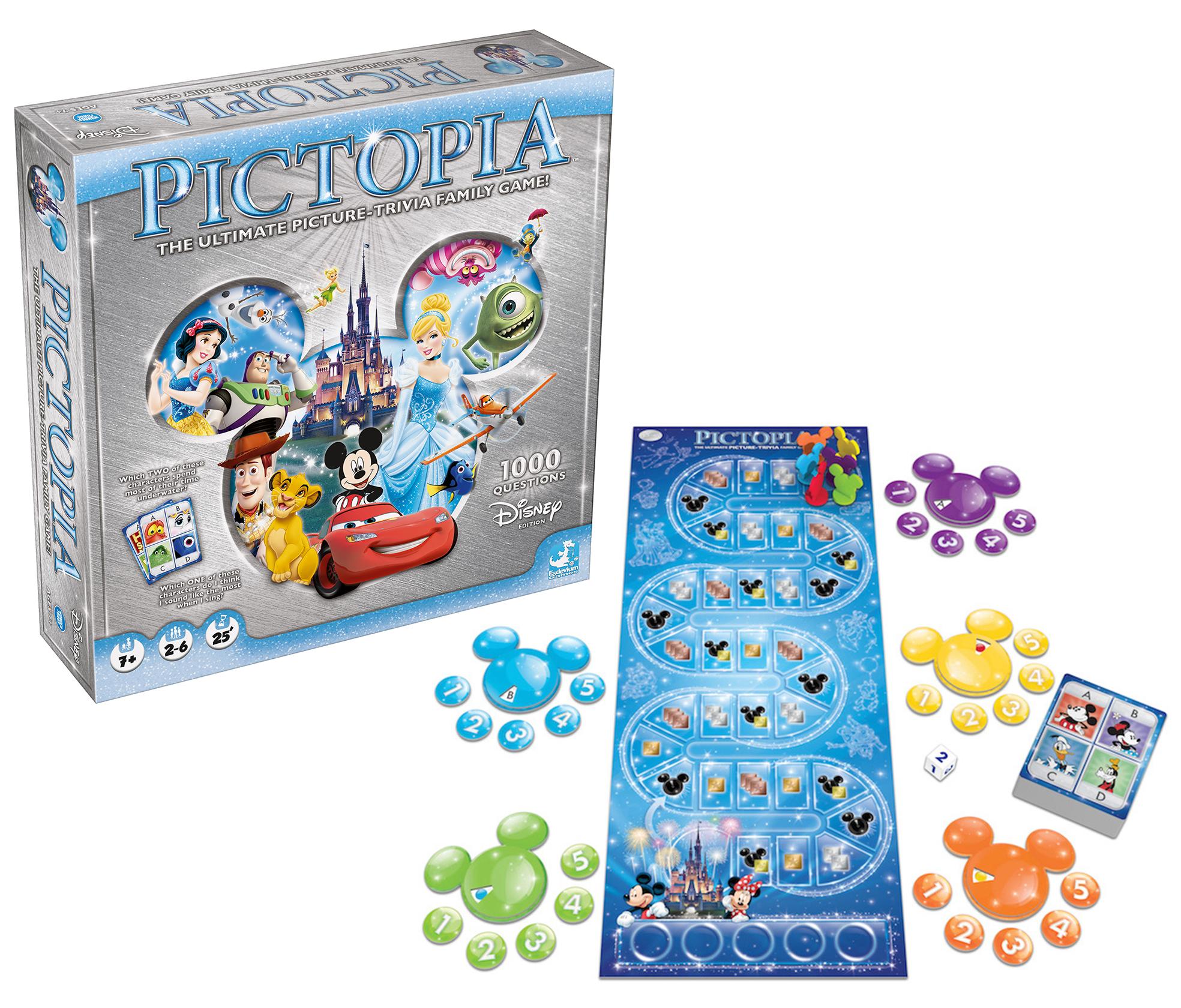 Disney Pictopia game