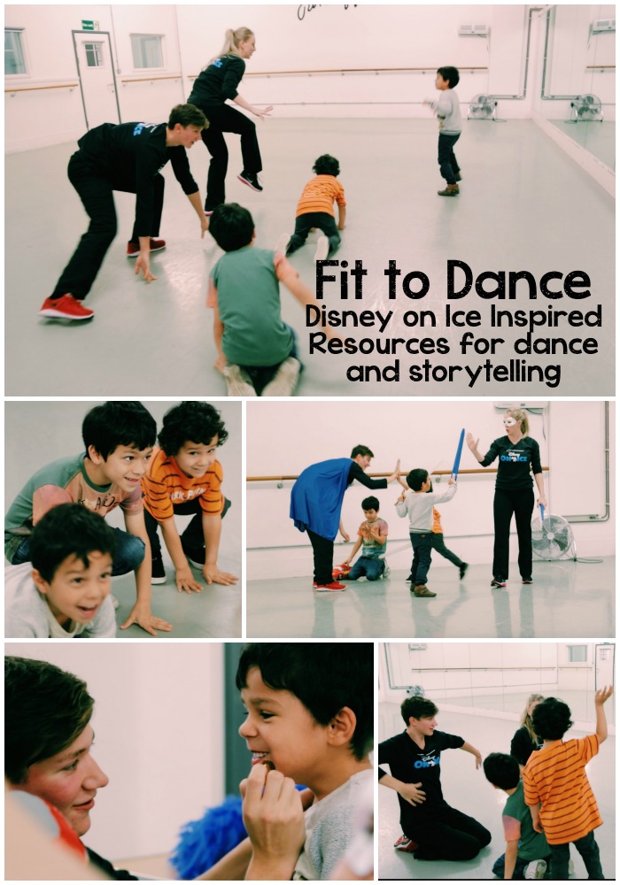 Fit To Dance. Disney on ice inspired educational programme for storytelling and dance. Lots of brilliant resources for home or school
