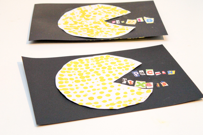 dotted Pac-Man craft