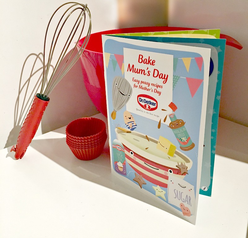 easy mother's day recipes booklet from Dr Oetker, free downloadable pdf recipe ebook to print