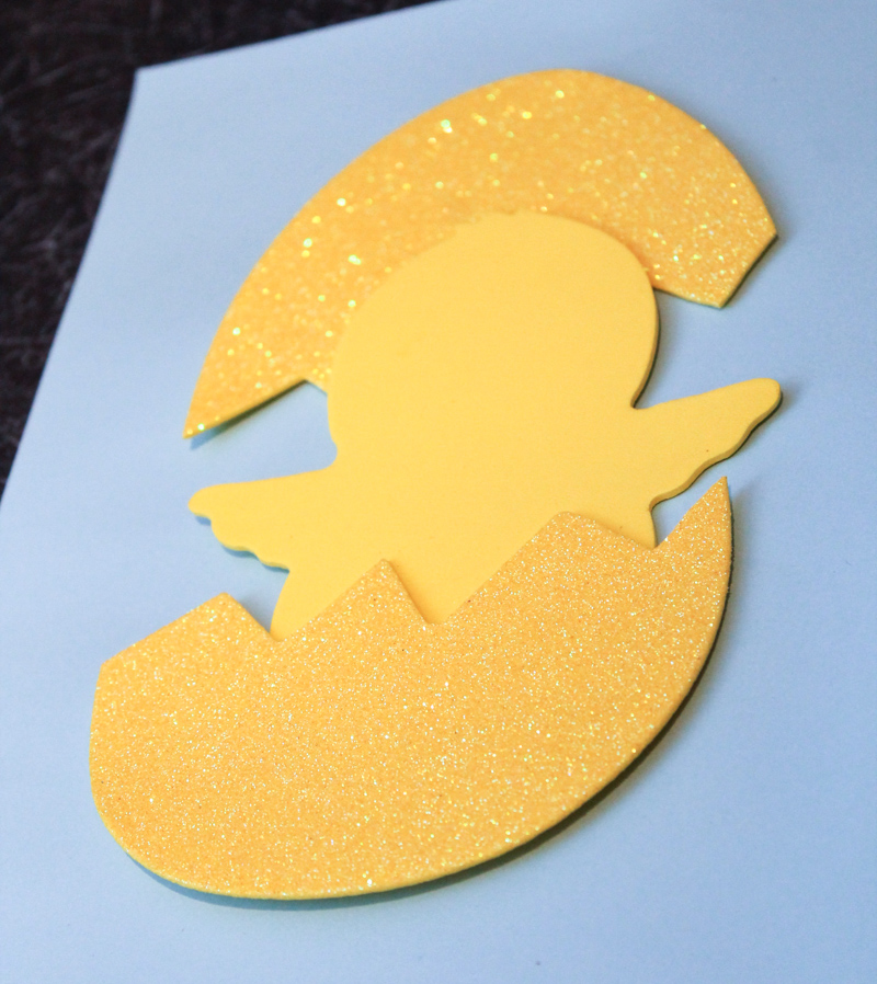 spring chick and egg craft