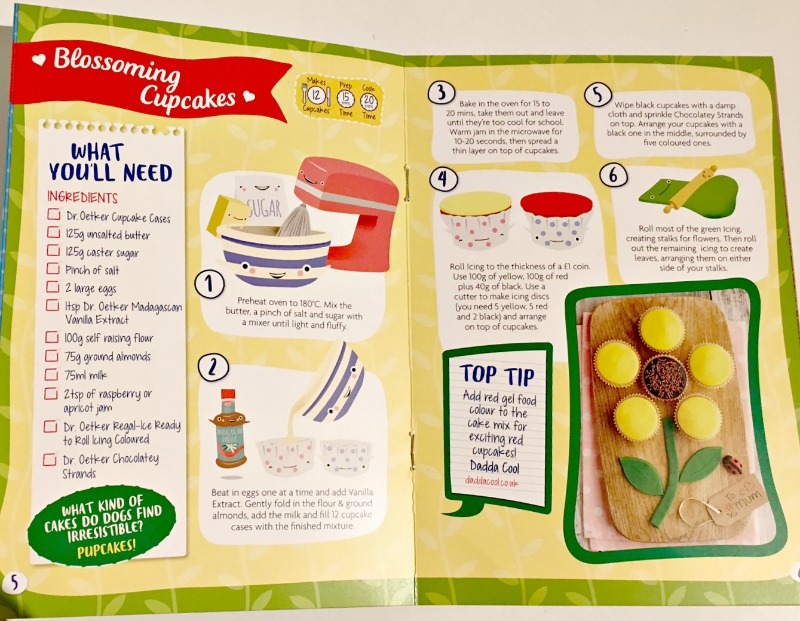 Dr Oetker Mother's Day Recipe Book