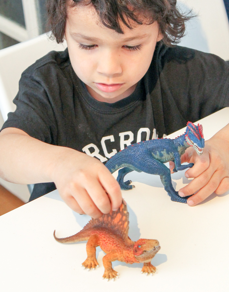 schleich the first dinosaurs range of toys