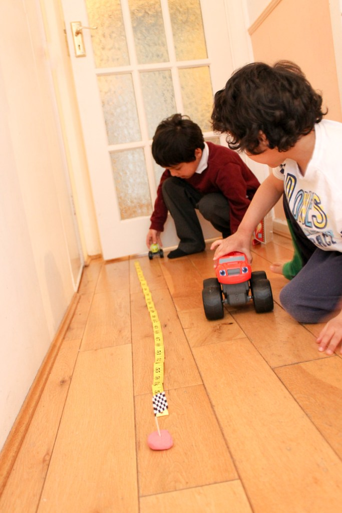 measuring distances with cars