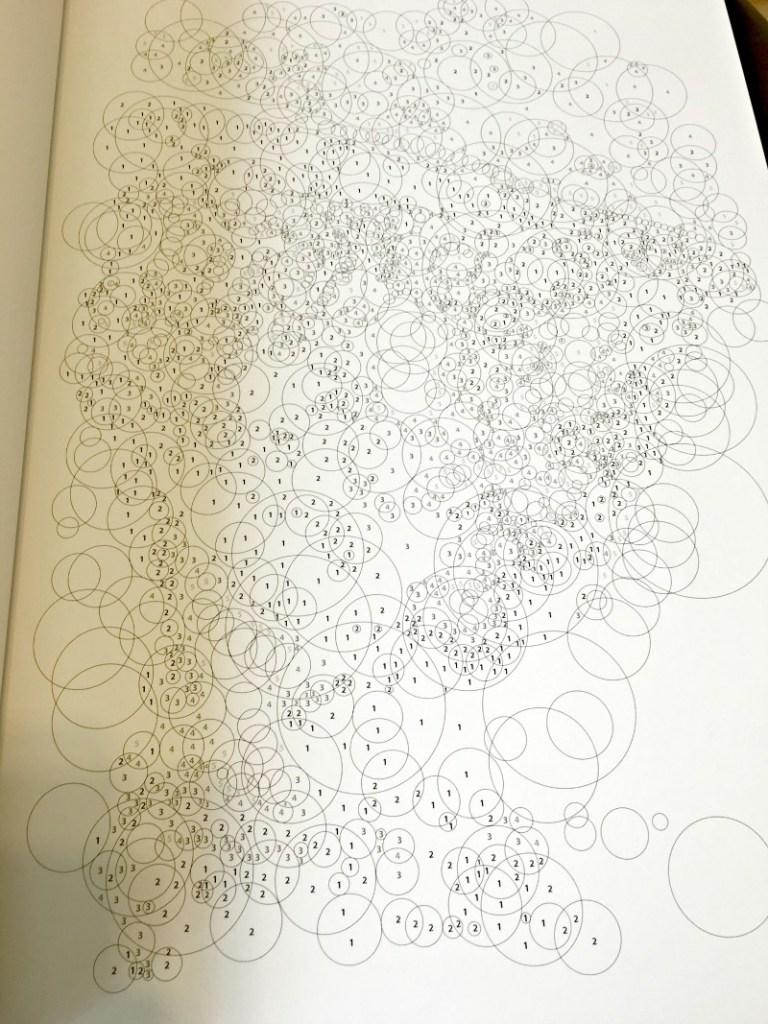 querkles book uncoloured page