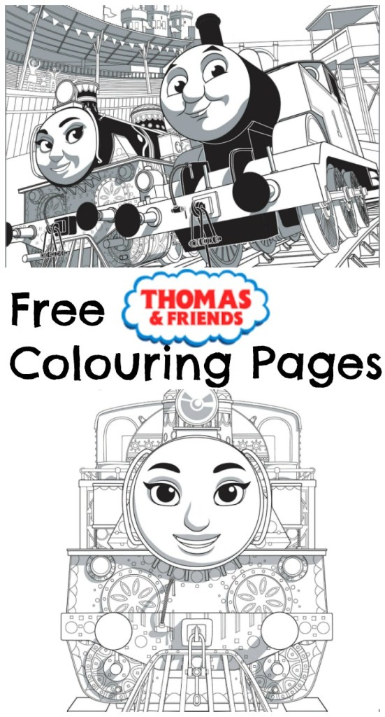 free printable thomas and friends colouring pages, from the new movie ...