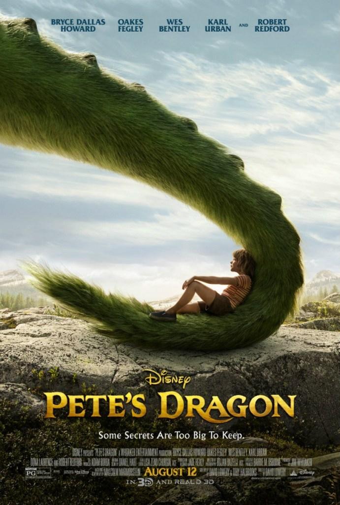 UK Petes Dragon Poster Disney