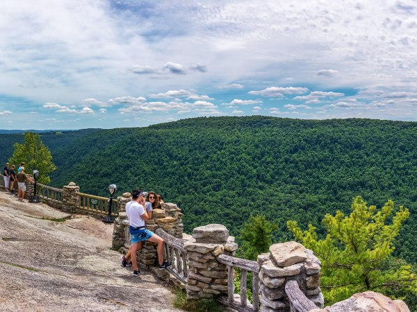 Coopers Rock Panorama