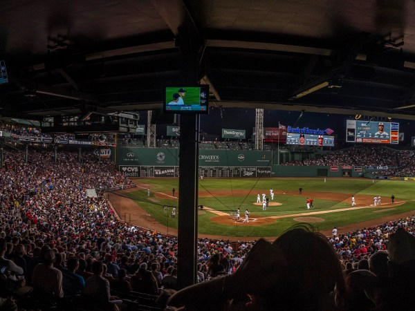 Fenway Park Panorama In The RAW