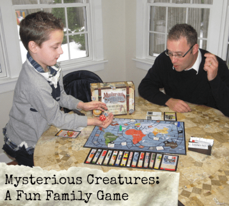 Mysterious Creatures: A Fun Family Game