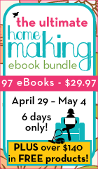 Ultimate Homemaking eBook bundle