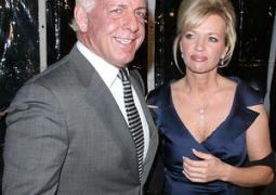 WWE WRESTLER RIC FLAIR'S WIFE ARRESTED FOR DOMESTIC VIOLENCE