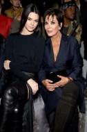 Kendall Jenner(L) and Kris Jenner