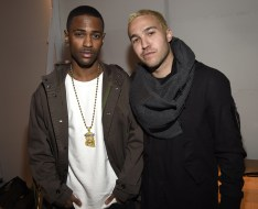 Big Sean(L) and Pete Wentz