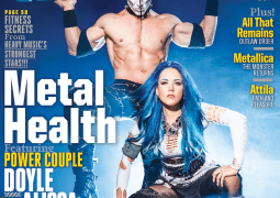 ARCH ENEMY's Alissa White-Gluz Graces Cover of Revolver Magazine's January 2015 Issue
