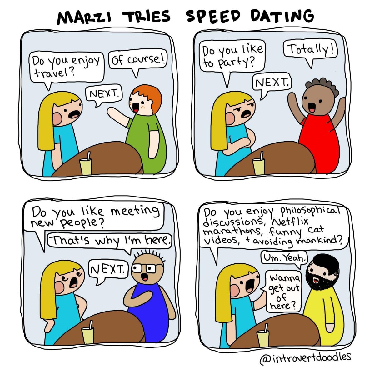 Speed dating georgia