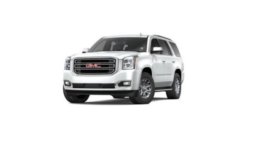 Test Drive this 2019 Summit White GMC Yukon at Laura Buick GMC in     2019 GMC Yukon Vehicle Photo in Collinsville  IL 62234
