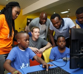Facebook CEO Mark Zuckerberg is visiting Nigeria this week on his first trip to Africa