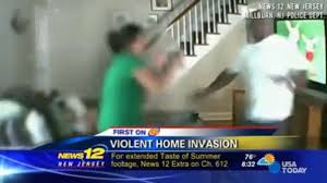 Nanny Cam Footage Catches Home Invader in Milburn, New Jersey