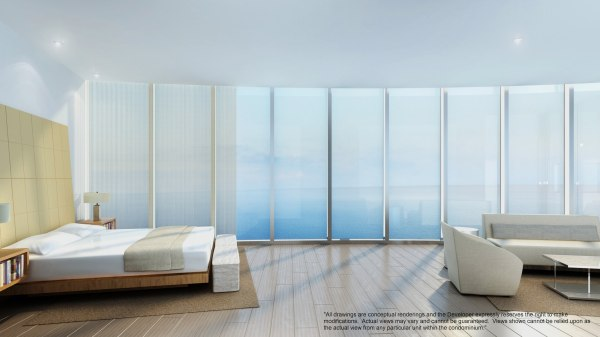 Porsche Design Tower Bedroom